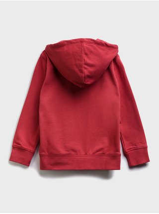 Červená klučičí dětská mikina GAP Logo hoodie