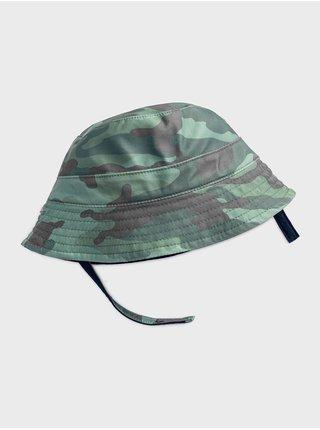Doplňky - Dětský klobouk bucket hat Zelená