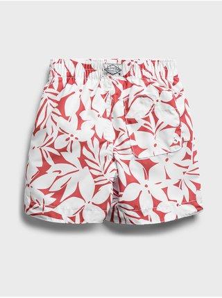 Červené klučičí dětské plavky swim trunk