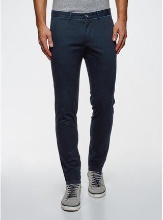 Nohavice typu chinos s kontrastným lemovaním OODJI