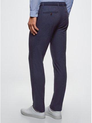Kalhoty klasické s páskem OODJI