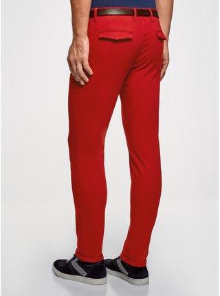 Kalhoty bavlněné s páskem OODJI