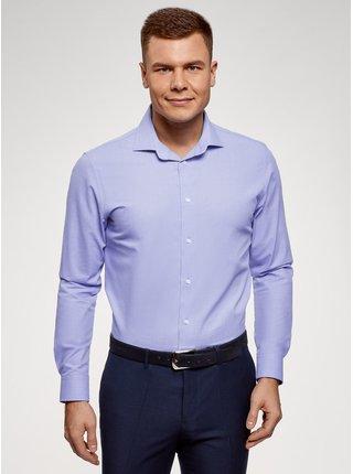 Košile klasická s dlouhým rukávem OODJI