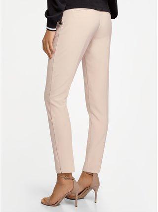 Nohavice zúžené s kontrastným pásikom OODJI