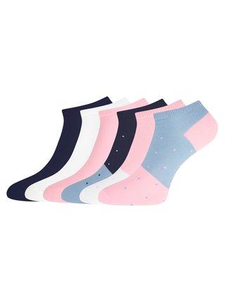 Ponožky členkové (sada 6 párov) OODJI