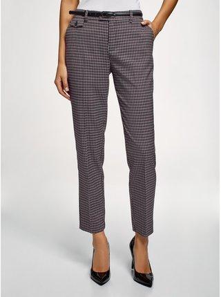 Kalhoty rovné s ozdobnou kapsou OODJI
