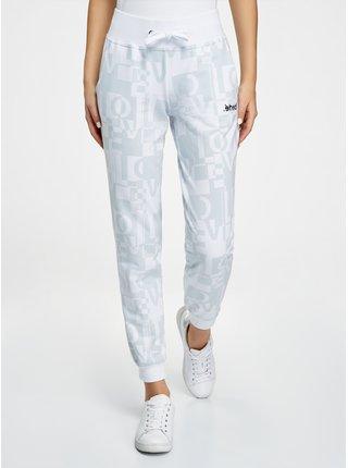 Kalhoty úpletové potištěné OODJI