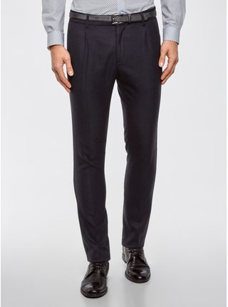 Kalhoty klasické slim fit OODJI