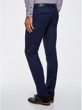 Kalhoty ze silné látky s kontrastními prvky  OODJI