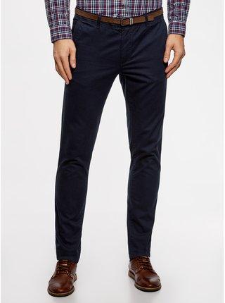 Kalhoty typu chinos bavlněné s páskem OODJI