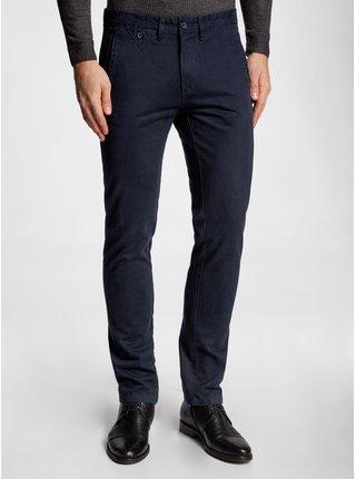 Kalhoty bavlněné s kontrastními prvky OODJI