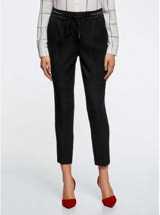 Kalhoty rovné s gumou OODJI