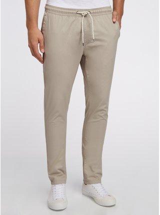 Nohavice bavlnené s viazačkou OODJI