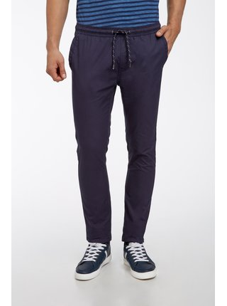 Kalhoty bavlněné s vázačkou OODJI