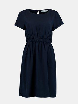 Tmavě modré šaty s kapsami Hailys