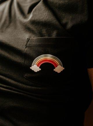Čierne pánske tričko ZOOT Original Piju jako duha