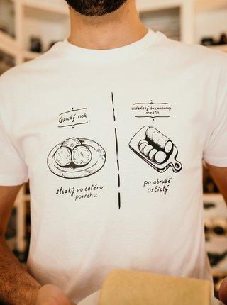 Tričká s krátkym rukávom pre mužov ZOOT Original - biela