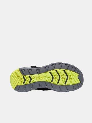 Černé klučičí sandály Keen