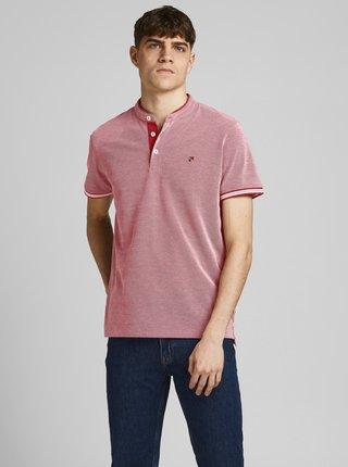 Červené polo tričko Jack & Jones Luwin