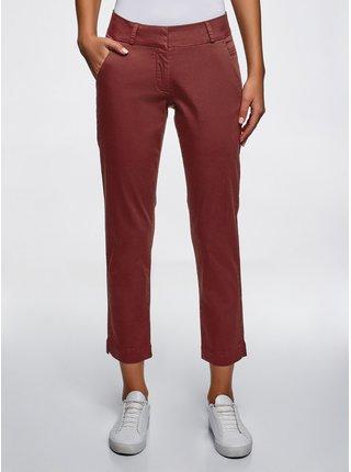 Nohavice typu chinos z bavlny OODJI