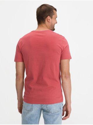 Červené pánské tričko GAP Logo bas arch t-shirt