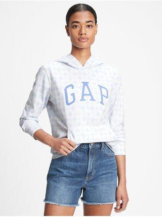 Bílá dámská mikina GAP Logo hoodie