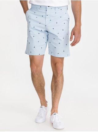 Modré pánské kraťasy 10 in printed shorts