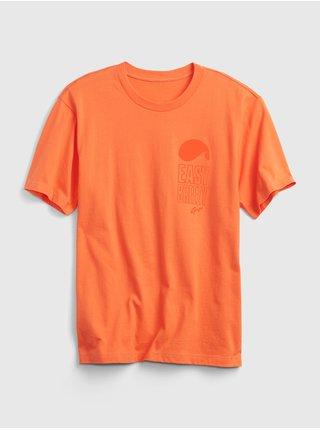 Oranžové pánské tričko easy breezy t-shirt