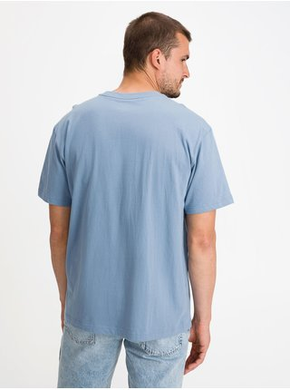 Modré pánské tričko GAP Logo easy breezy t-shirt