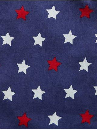 Modré klučičí dětské pyžamo 100% organic cotton star graphic pj set