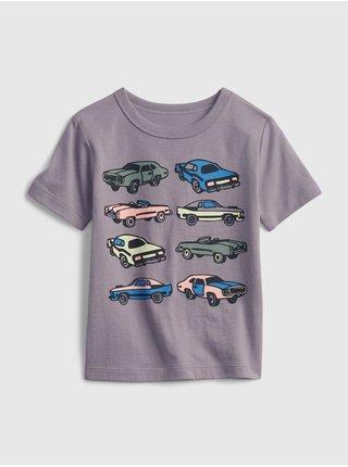 Modré klučičí dětské tričko short sleeve graphic t-shirt