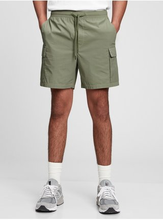 Zelené pánské kraťasy easy cargo shorts