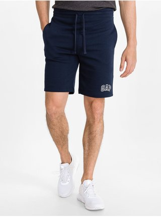 Šedé pánské kraťasy GAP Logo pull-on shorts, 2ks