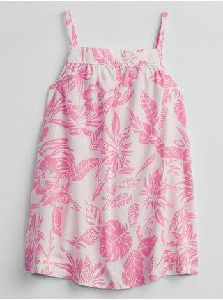 Bílé holčičí baby šaty floral dress