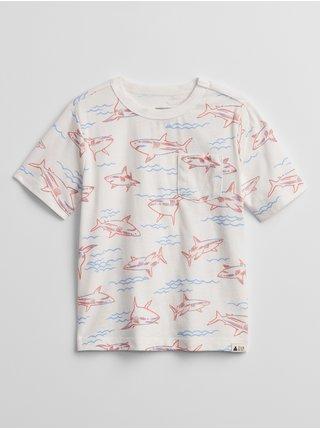 Barevné klučičí dětské tričko mix and match t-shirt GAP
