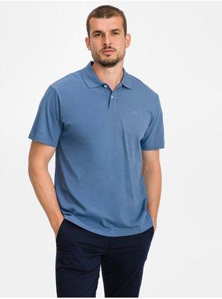 Modré pánské polo tričko GAP Logo jersey