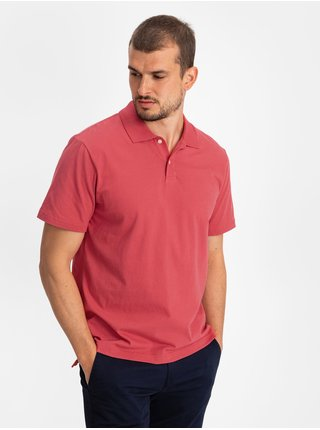 Červené pánské polo tričko GAP Logo jersey