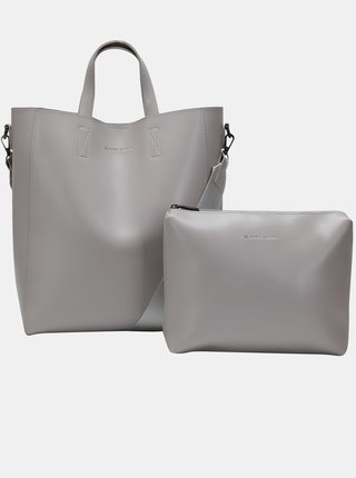 Šedá velká kabelka s odnímatelným pouzdrem Claudia Canova