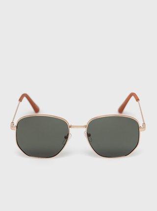 Pánské sluneční brýle ve zlaté barvě ALDO Brauss