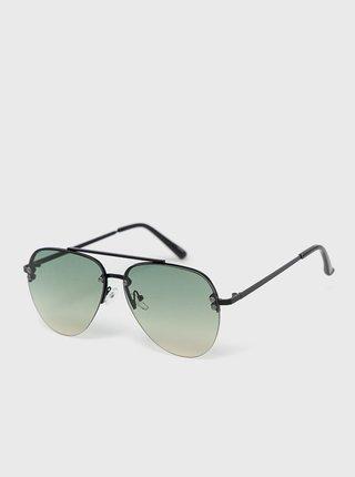 Černé pánské sluneční brýle ALDO Feleogild