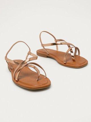 Dámské sandály v růžovozlaté barvě ALDO Broasa