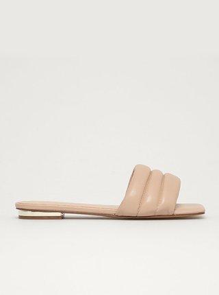 Béžové dámské pantofle ALDO Goani