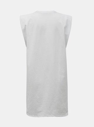 Biele dlhé tričko Hailys