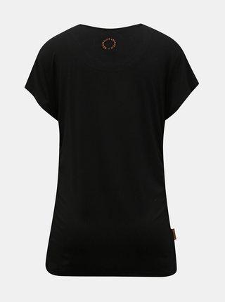 Čierne dámske dlhé tričko Alife and Kickin