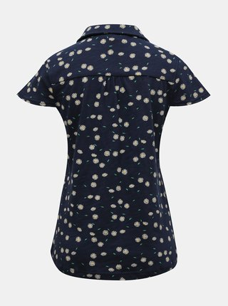 Tmavě modré květované tričko  Brakeburn