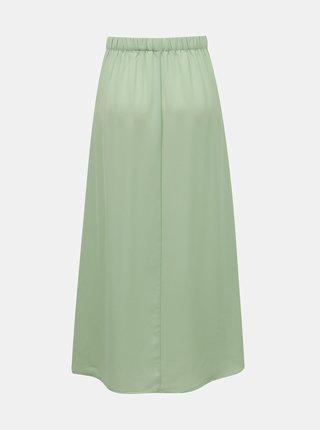 Zelená maxi sukně s knoflíky ONLY Nova