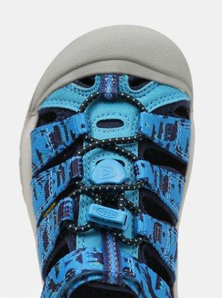 Modré dětské vzorované sandály Keen
