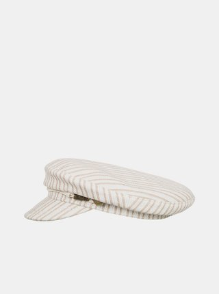 Krémová pruhovaná čiapka Roxy