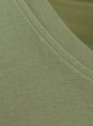 Zelené tričko s potiskem Jack & Jones Flow