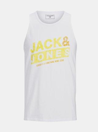 Tielka pre mužov Jack & Jones - biela